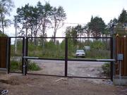 Ворота и калитки, каркас, с сеткой, с прутьями