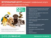 Ветеринарные профессиональные услуги
