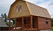 Дом-Баня из бруса готовые срубы с установкой-10 дней недор Лида