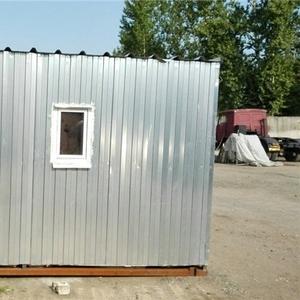 Бытовка металлическая, утеплённая для строителей