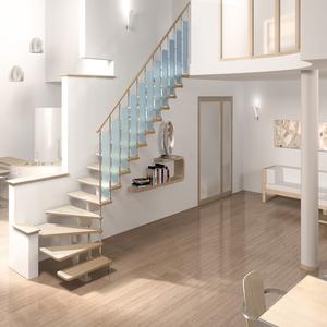 Модульные лестницы на второй этаж в Лиде