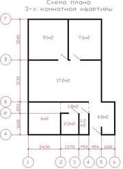 СРОЧНО!!!Продается 3-х комнатная квартира в центре города по адресу г.