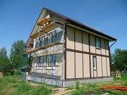 Строительство каркасных домов в Беларуси по  канадской каркасно-панель