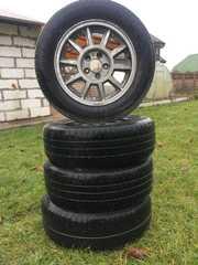 Литые диски + шины 195/65/R15